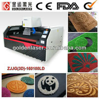 Carpet Engraving Laser/Lazer Carving Machine for Mat Rugs