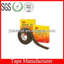 Insulation Black Adhesive Tape 3M 23 with good performance