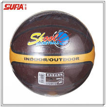custom logo Laminated PVC material official basketball