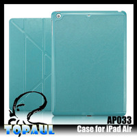 Stand Holder transformer leather case tablet cover for ipad air 2