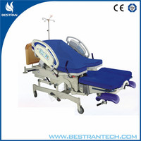 BT-LD004 Luxury electric obstetric room birthing table