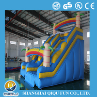 China Manufacturer Low Price Inflatable giant inflatable water slide for slide,big water slides for sale
