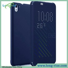 Hot Sell Factory Price for HTC Desire 826 Dot View Case, Blue