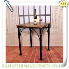 KZ140139 antique metal dinner table