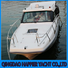 Made in China 7.6m fiberlgass cruiser boat for sale
