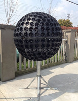 plastic outdoor decorative storage flower ball planters