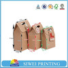 Recycle eco friendly brown paper bag shopping kraft paper bag