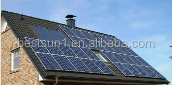 High quality grid switch 10kw outdoor solar power battery supply
