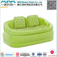 New design inflatable flocked sofa , inflatable flocked air bed,inflatable bedroom/outdoor furniture
