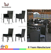 Outdoor rattan furniture cheap restaurant tables chairs