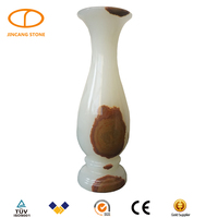 Natural stone chinese jade vase