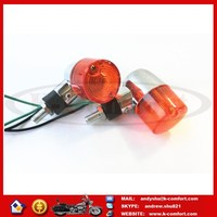 KCM510 Free shipping Motorcycle Tuning Parts vintage mini small prince turn lights for sale