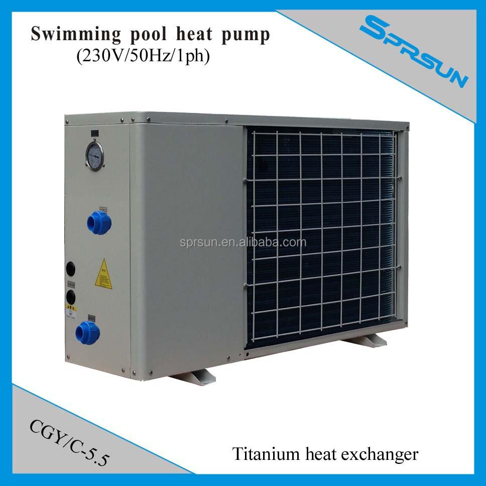 Swimming Pool Heater Heat Pump Titanium Heat Exchanger Anti Corrosion Buy Swimming Pool