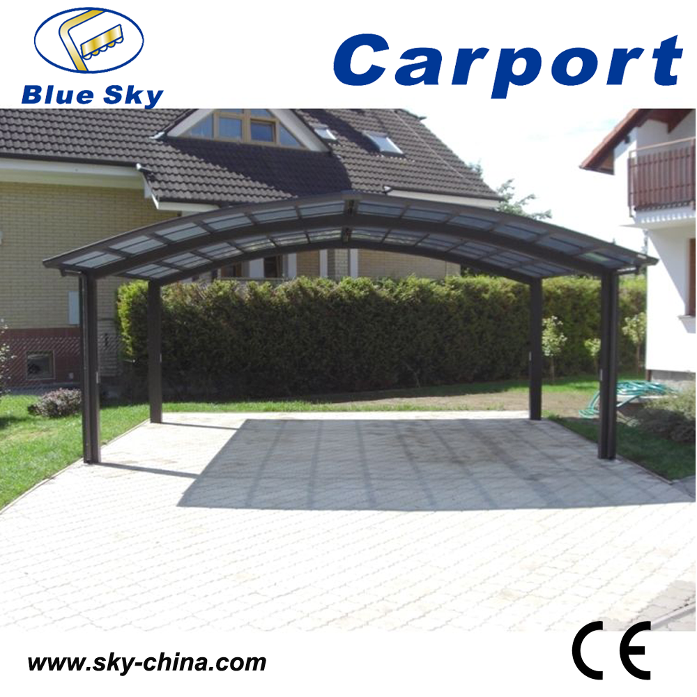 2 voiture en m tal carport en aluminium carport courbe carport garage toit et abris d 39 auto id. Black Bedroom Furniture Sets. Home Design Ideas