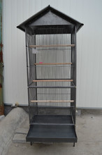 large metal wire bird cage