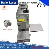 Hailei Factory fiber laser marking machine metal engraving machine power 20W gravograph engraving machine