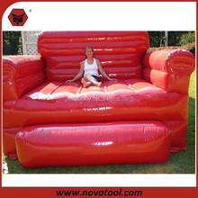 X0009937 Red Sofa Giant190x76x22cm Inflatable Chair Sofa For Sale