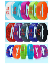 brand new Fashion Sports Silicone Bracelet Digital Touch LED Watch