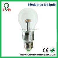 6W E26 E27 E14 B22 a19 led bulbs 6w 2300K 2500K 2700K 3000K 4000K 6000K