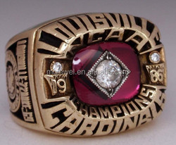 Wholesale Baseball Championship ring with good quality and factory cost
