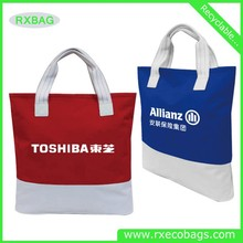 Canvas bags with silk print advertising bags shopping mass production