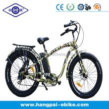 buy fat tire electric bike bicycle 500W big power snow/cruiser e-bike/ebike (HP-E012)