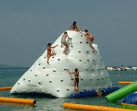 Hot sale water ice mountain / Inflatable Ice Mountain / Water Climbing games