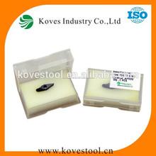 tungstenoinsertos de tungstenoinsertar pcd vcgt110304 kpd20 para torno cnc de la máquina del cnc de la máquina herramienta