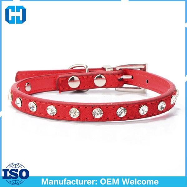 Puppy-Dogs-Collar-Bell-Rhinestone-PU-Leather-Cat-Supply-Collars-Pet-Neck-Strap (4)