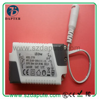 2015 NEW Design as Meanwell !!! UL approved 6w Led driver