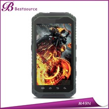 Newest 4.3inch MTK6582 Quad Core 1.5GHz 1GB/8GB Android Waterproof Dustproof Shockproof rugged phone