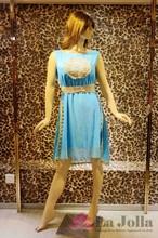 2015 Summer chiffon embroidered women dresses C-001