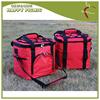 Shoulder Belt Design Red Color 600D Disposable Ice Cooler Bag