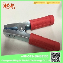 2015 New Insulated Crocodile Clip Alligator Clip Battery Clip For Charging Plated With Red Copper