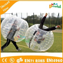 New sport!!! crazy and safety inflatable bumper bubble ball/human bubble ball/bubble boy suit