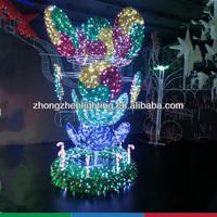3D decor motif light,decoration holiday street light,led decorative serial lights