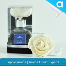 100 ml aroma diffuser with sola flower in glass bottle/ fragrance flower diffuser/ glass home decorative aroma diffuser