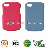 PC cellphone case for Blackberry Q10 with rubber coating