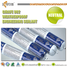 Waterproof Silicone Sealant Mastic With High Performance
