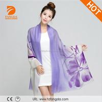 Alibaba Wholesale ady shawl fashion printed wool scarf