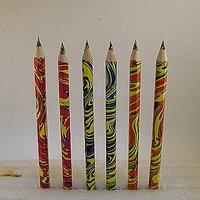 multicolors crayon pencil