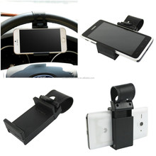 Steering Wheel Car Mount Holder Universal, can be used on mobile phone, gps, mp4 Adjustable Newest and Hot