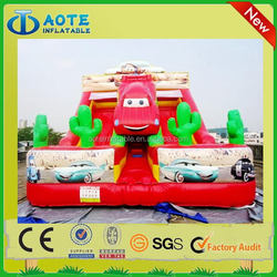 Best quality hotsell 2012 new inflatable wet&dry slide