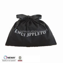 2015 black calico pouch bag,black cotton dust drawstring bag,black cotton gift bag