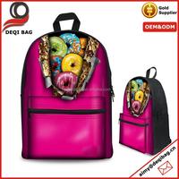 Women's Girls' Faux Leather/canvas Shoulder Bag Backpack Travel Satchel School Rucksack Bag