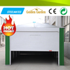 2015 best selling prefabricated house green house garage with steel structure
