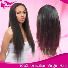 2015 Most Fashionable Virgin Brazilian Human Hair Full Lace Wig