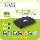 Best inteligente OTT TV Box com DVB-T Android 4.4 Quad core Bix Kodi pré-instalado