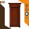 Aibaba china solid wood frame/architrave custom customized joining together solid wood door