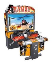 coin operated games shooting game machine / simulator gun shooting names Rambo 1 arcade game machine for sale